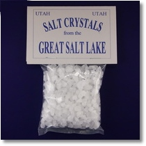 Salt Crystals from the Great Salt Lake